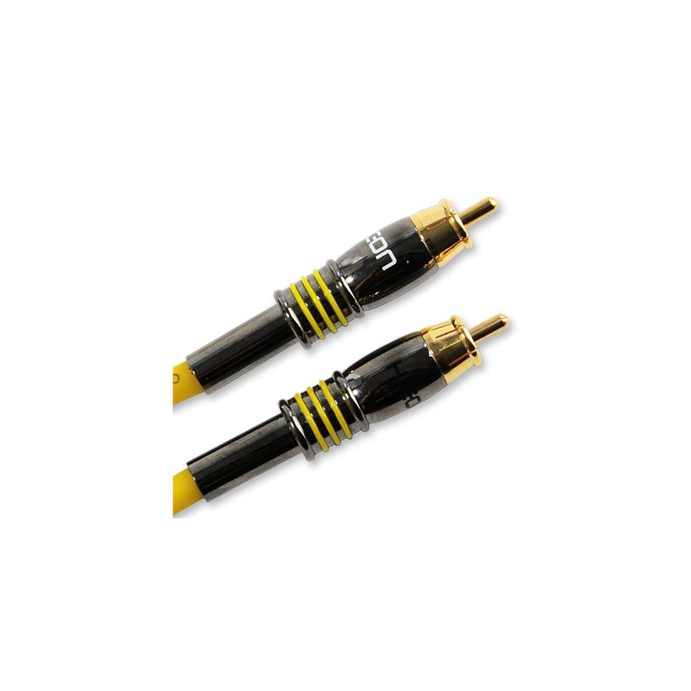 High End RCA to RCA Lead Sommer Albedo MKII Cable /& Hicon Gold Connectors