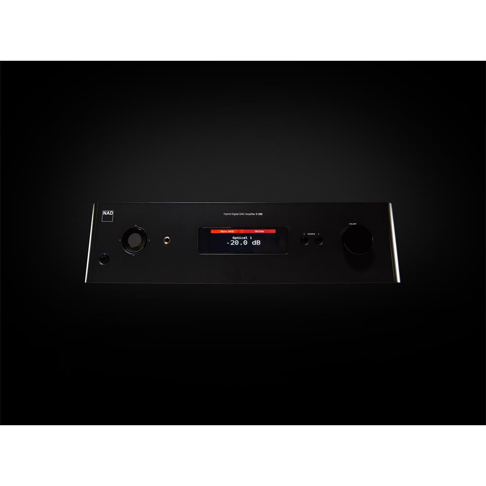 NAD C 388 - hybrid digital DAC amplifier (2 x 150 Watts / Hi