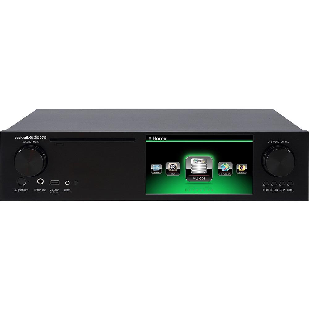 Cocktail Audio X45 without hard drive (black / all-in-one HD
