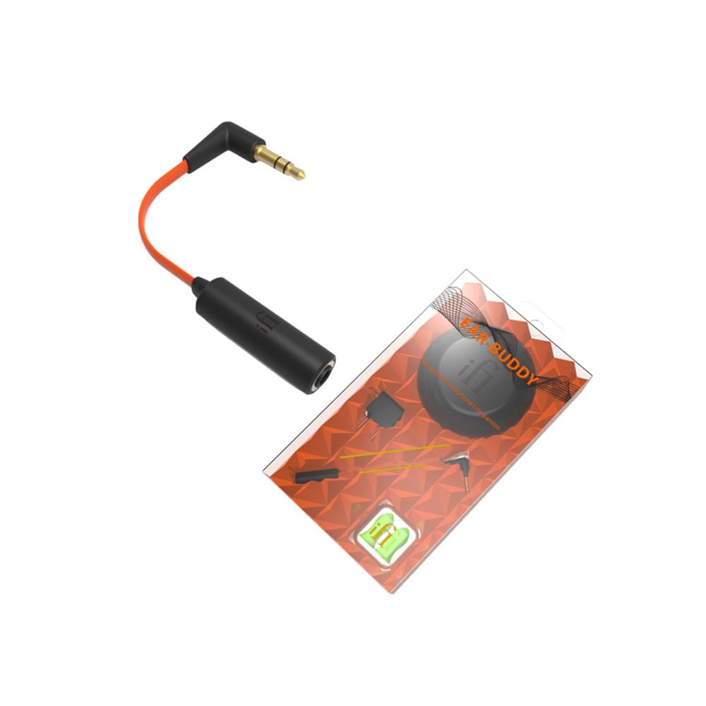 iFi-Audio EarBuddy® - headphone optimizer (3 5 mm / black/red)