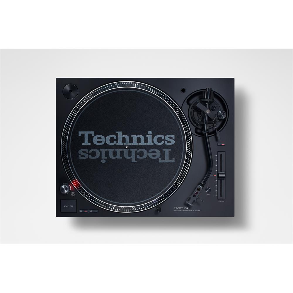 Technics SL-1210MK7 - DJ record player (black / direct drive