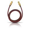 Oehlbach 20532 - NF SUB 200 - subwoofer cinch cable (1 x RCA to 1 x RCA / 2.0 m / red/gold)