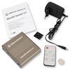 Oehlbach 6045 - UltraHD Switch 3:1 - 3 x HDMI-Input to 1 x HDMI-Output (black/silver/gold)