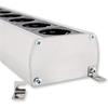Supra Cables 3024000022 - SUPRA LoRad MD06-EU MKII - multi-socket outlet (black/silver / 1 piece)