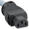 Supra Cables 0079008004 - LoRad 2.5 CS-EU Powercord 3x2,5qmm (1 piece / 2,5 m / ice blue)