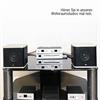 Pro-Ject Receiver Box S - Integrated amplifier with remote control (black)