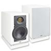 Elac AIR-X 403 - fully active 2-way bookshelf loudspeaker (225 Watts / high-gloss white / 1 piece)