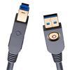 Oehlbach 9223 - USB Max A/B 750 - USB-3.0-Cable, A to B (1 pc / 7,5 m / gray)