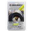 Oehlbach 9232 - USB Max A/M 500 - Max A/Mini B USB-3.0-Cable, Type-A to Type-Mini  (1 pc / 5 m / dark gray)