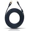 Oehlbach 9124 - USB A/Mini 750 - USB 2.0 cable, A to mini (1 pc / 7,5 m / black)
