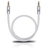 Oehlbach 60014 - i-Connect J-35 300 - Mobile audio cable, 3.5 mm audio jack to 3.5 mm (3,0 m / white)