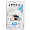 Oehlbach 60016 - i-Connect J-35 500 - Mobile audio cable, 3.5 mm audio jack to 3.5 mm (5,0 m / white)