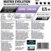 Oehlbach 51500 - Matrix Evolution 75 - High-Speed-HDMI®-Cable with Ethernet 1 x HDMI to 1 x HDMI (0,75 m / black)