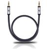 Oehlbach 60011 - i-Connect J-35 050 - Mobile audio cable, 3.5 mm audio jack to 3.5 mm (0,5 m / black)