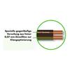 Sommer Cable 225 MKII - SC-ORBIT  - Speaker cable (10 m / 2x2,5 mm² / 10,2 x 4,8 mm / black transparent )