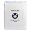 Nordost Purple Flare - loudspeaker cable - ultra-thin flexible formulated with Bananas (2 x 3.0 m / purple / silver-plated OFC)