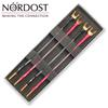 Nordost BWJUMP/SB - Norse Series - Bi-Wire Jumpers (4 x 15cm / Silver-plated OFC)