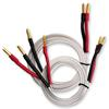 Nordost 2FL50 - 2 FLAT - Speaker Cables Ultra-thin flexible formulated with Bananas (2 x 4 m / white / OFC)