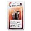 Oehlbach 35006 - i-Jack 25 AN - Mobile headphone cable for Android devices, 3.5 mm jack to 2.5 mm 90° jack (1,5m / black)