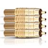 Oehlbach 4125 - CJG 65 - RCA plug (cable cross-sections up to 6.5 mm / gold)
