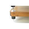 Atacama EVOQUE ECO 44/16 - DESIGN EDITION - HiFi-Rack (insgesamt 2 Regalböden aus hellem Bambus Vollholz = light bamboo / Beine in matt schwarzer Ausführung / inkl. Spikes)