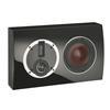 DALI Rubicon LCR On-Wall-Speaker (20-150 W / glossy black / 1 piece)