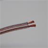 OEHLBACH KLANGVILLA Special 2 x 2.5 qmm - Speaker Wire 25 - Loudspeaker cable custom-made product (1 m / transparent / flexible / copper / 2 x 2.5 qmm)