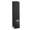 DALI Zensor 5 AX - active 2-Way bass reflex floorstanding loudspeakers (160 W / black ash / 1 pair)