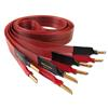 Nordost Red Dawn - speaker cable (ultra-thin / flexible / banana plugs / 2 x 2m / red / OFC)