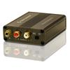 Oehlbach 6060 - Phono PreAmp Pro - low-distortion phono preamplifier for record players (moving-magnet / moving-coil / metallic brown)