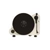 """Pro-Ject VT-E BT R (for right-handed) - vertical record player with Ortofon OM 5E cartridge and Bluetooth output (white / with straight 8,6"""" tonearm / Bluetooth)"""