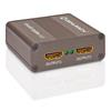 Oehlbach 6044 - Ultra HD Splitter 1:2 - efficient HDMI® distributor for Ultra HD signals / metallic brown)