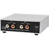 Pro-Ject Head Box S2 - micro high end headphone amplifier (Hi-Res / with 6.35 mm and 3.5 mm headphone outputs / + RCA loop output / black)