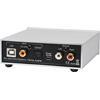 Pro-Ject DAC Box S2+ - High End D/A converter (32bit / DSD256 Support / black)