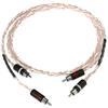 Kimber Kable Tonik - RCA audio cable (RCA-RCA / 0.5 m / white-transparent / 1 pair)