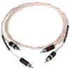 Kimber Kable Tonik - RCA audio cable (RCA-RCA / 1.0 m / white-transparent / 1 pair)