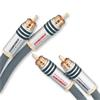 Oehlbach 2088 - NF 14 Master 150 - NF audio RCA cable 2 x RCA to 2 x RCA (2 x 1.5 m / anthracite / symmetric)