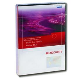 Becker / Navteq T1000-15612 - Traffic Pro / DTM Europe Low Speed (Version 10.0 / 2008 / Final Update)