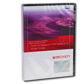 Becker / Navteq T1000-15610 - EUROPE Traffic Pro/DTM Highspeed CD (Version 7.0 - 2008/2009)