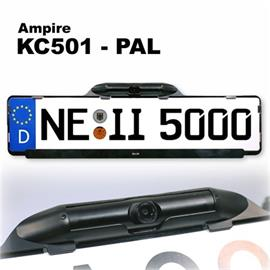 "Ampire KC501-PAL - AMPIRE 1/3"" License Plate Frame Camera"