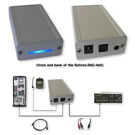 Solisto 8100 - SOLISTO.DAC-4ALL / Digital Analog Converter