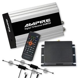 Ampire DVBT52 - DVB-T Diversity Tuner + MM Interface for BMW iDrive Professional Navigation (CCC) with factory-made TV tuner