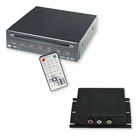 Dietz 85700 - DVD-Player + Multimedia Interface for BMW iDrive Professional Navigation (CiC / 7 buttons) without factory-made TV tuner port