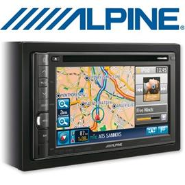 "ALPINE INE-S900R - Navigation System / Multimedia station with 6,1""-TFT (15,5cm) DVD / MP3 / DivX® / USB / Bluetooth / Dolby Digital / TMC"