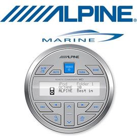 ALPINE MC-2 - Wireless waterproof marine remote control add-on Commander