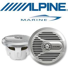 ALPINE SPR-M700 - 17,8 cm 2-Way Marine Coaxial Speaker (silver)