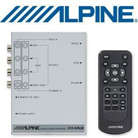 ALPINE KCE-635UB - USB Multimedia Interface for AAC / MP3 / WMA