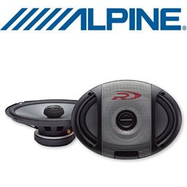 "ALPINE SPR-69 - 6x9"" (16x24cm) Coaxial 2-Way Speaker"