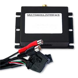Multimedia Interface (Audio / Video) for VW und Skoda with MFD2 / RNS-2 / Nexus navigation system, 1x A/V-IN