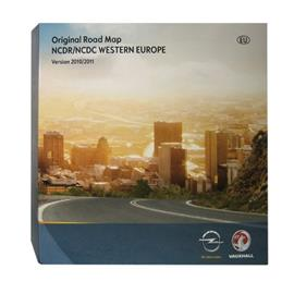 Navteq EUROPEAN PACKAGE - Siemens Opel NCDR/NCDC 9-CD Set 2010/2011